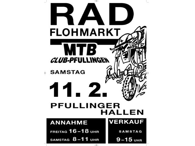Radflohmarkt am 11. Februar 2017