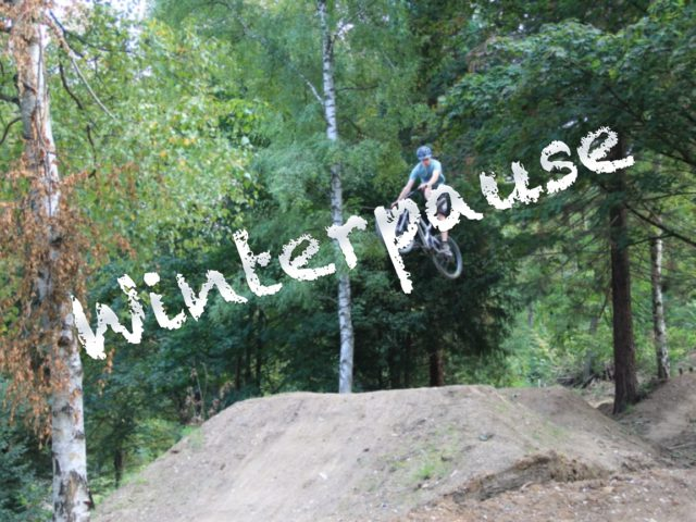 Bikepark in der Winterpause